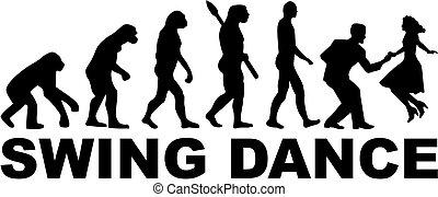 Evolutionsschaukel.