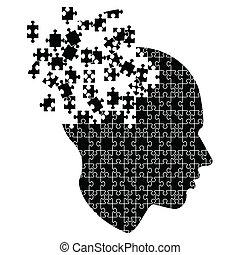 explodieren, verstand, ideen