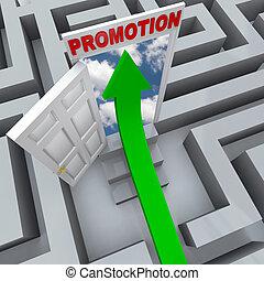Förderung im Labyrinth - offene Tür zum Karriereerfolg