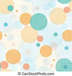 Fabric kreisen abstraktes Muster