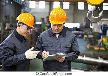 Fabrikarbeiter