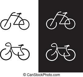Fahrrad, Fahrrad - Icon