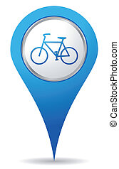 fahrrad, ort, heiligenbilder