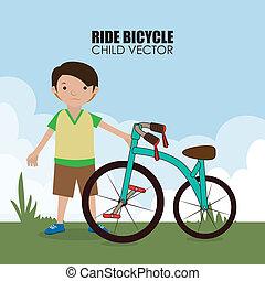 Fahrraddesign.