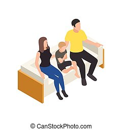familie, ikone, therapie