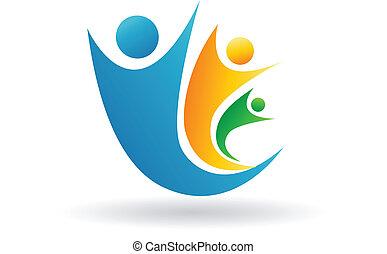 Familien-Team-Logo.