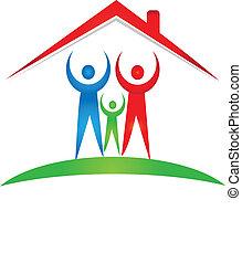 Familien- und Haus-Logo