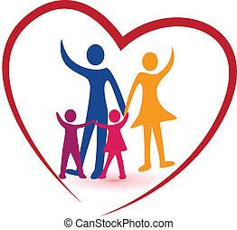 Familien- und Rotherz-Logo.