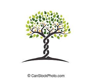 Familienbaum-Symbol-Logo.