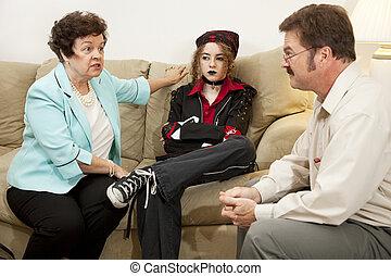 Familienberatung - sie macht mich verrückt.