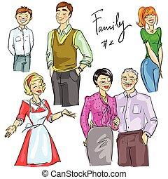 Familienmitglieder isoliert, Satz 2.