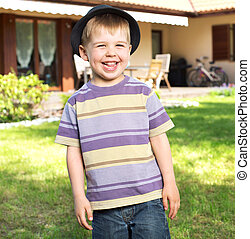 Fantastisches Bild von einem lachenden Kind
