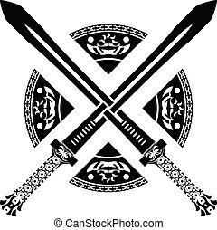 Fantasy-Schwerter. Zweite Variante