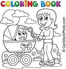 Farb-Buch-Baby-Motiv 2
