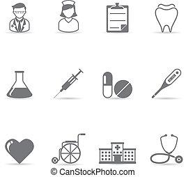 Farb-Ikonen - medizinisch