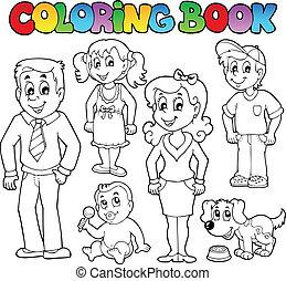 Farbbuch-Familiensammlung 1