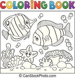 Farbbuch Meeresleben Thema 4.