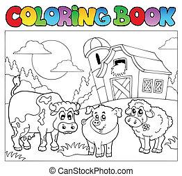 Farbbuch mit Farmtieren 3