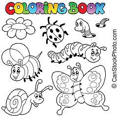 Farbbuch mit kleinen Tieren 2.
