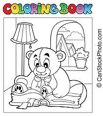 Farbbuch mit Teddybär 2