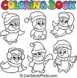 Farbbuch-Süßlinge drei