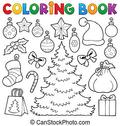 Farbbuch Weihnachtsdekor 1.