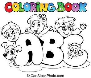 Farbbuchschule ABC-Briefe