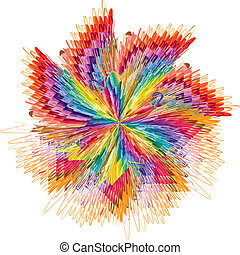 Farbe in Bewegung