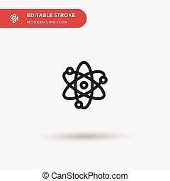 farbe, perfekt, symbol, modern, web, stroke., ui, projekt, einfache , design, heiligenbilder, abbildung, atomar, icon., geschaeftswelt, dein, element., beweglich, editable, schablone, vektor, piktogramm