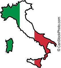 Farben Italiens