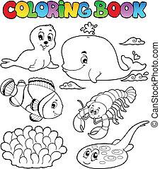 Farbenbuch verschiedener Meerestiere 3