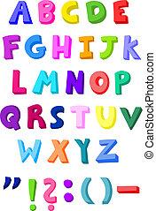 Farbige Briefe