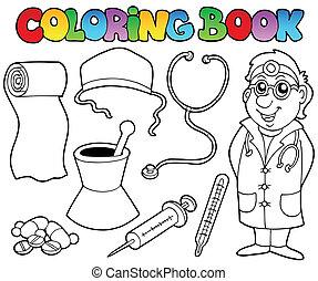 Farbige medizinische Sammlung