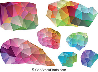 Farbige Vektoren-Elemente