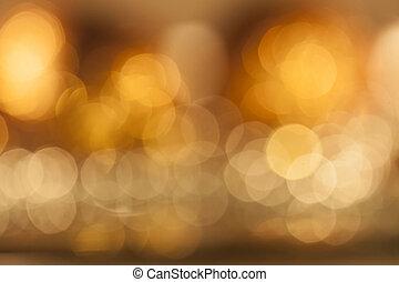Farbige, verschwommene Lichtbilder.