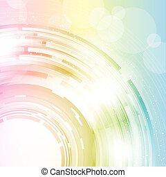 Farbiger Abstrakt
