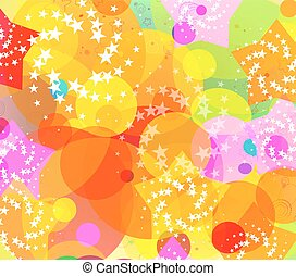 Farbiger, abstrakter Hintergrund.