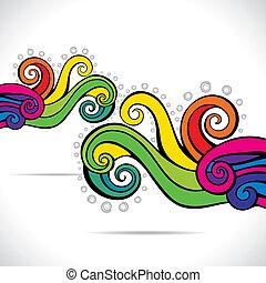 Farbiger abstrakter Hintergrund