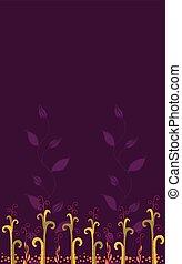 Farbiger Blumenhintergrund