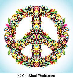 Farbiger Frieden