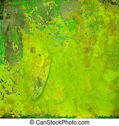 Farbiger grüner Grunge abstrakter Hintergrund
