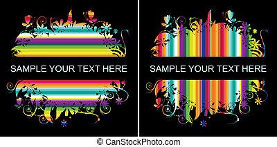 Farbiger Hintergrund mit Platz für Ihren Text
