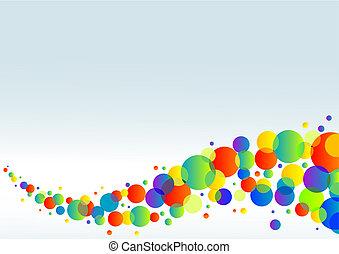 Farbiger horizontaler Hintergrund