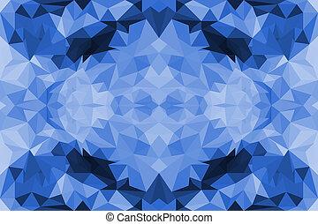Farbiger polygoner abstrakter Hintergrund.