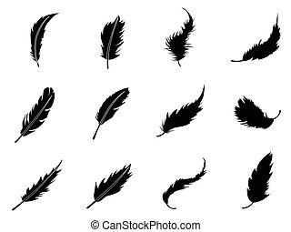 Feather-Ikonen bereit