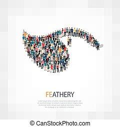 Feather-Leute