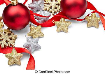feiertag, jahreswechsel, dekoration, verzierung, weihnachten