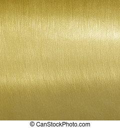 Fein gebürstete goldene Struktur