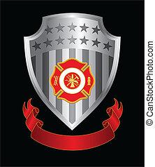 Feuerwehrkreuzschild