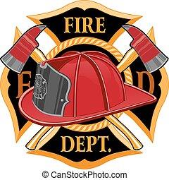 Feuerwehrkreuzzeichen